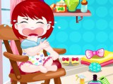 Bébé Lulu va couper ses cheveux