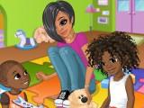Nia garde 2 enfants