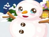 Bonhomme de neige vivant