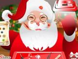 Père Noel chez le docteur