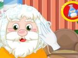 Nouvelle coiffure pour papa Noël