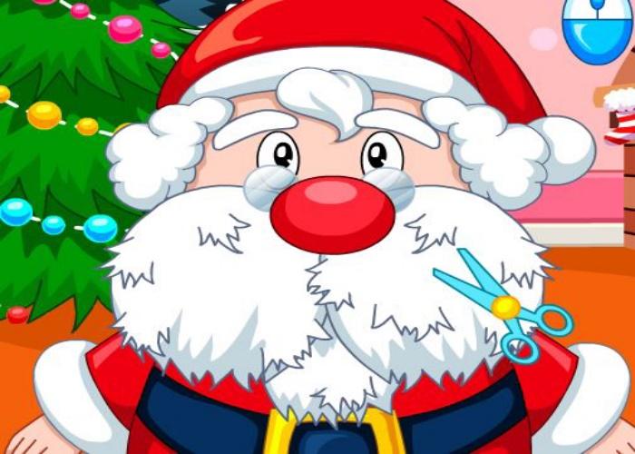 Relooke le père Noël et sa barbe
