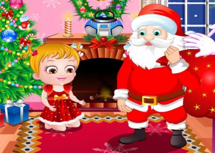 Hazel fête Noël