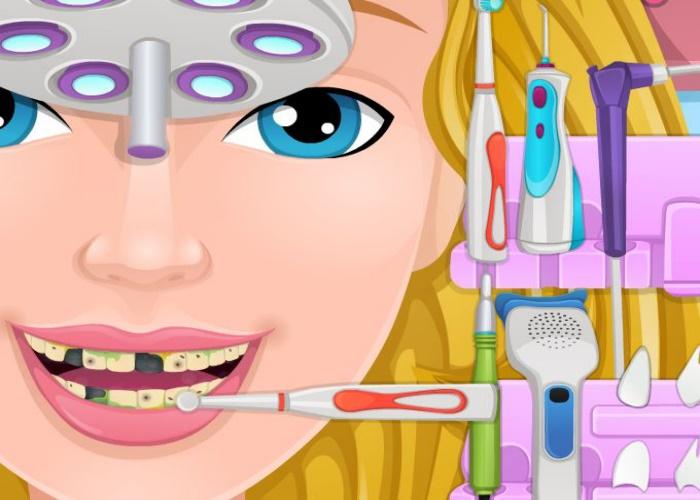 Sourire de jeune fille parfait sur jeux fille gratuit - Jeux de fille gratuit de cuisine et de coiffure ...