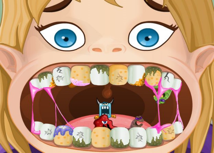 jeux de fille de dentiste