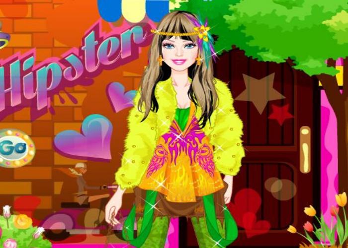 Habillage style hippie