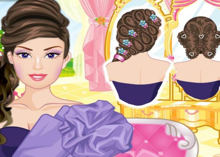 3 coiffures de princesse sur jeux fille gratuit - Jeux de coiffure raiponce ...