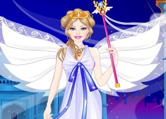 Habillage d'une princesse du vent