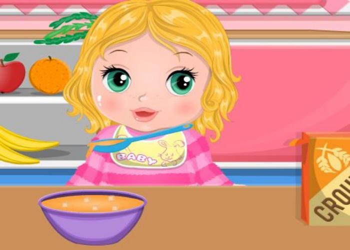 Prépare le repas de Bonnie