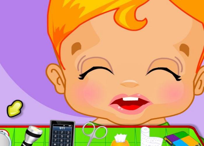 Bébé a reçu un choc éléctrique