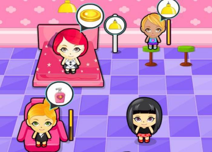 salon et spa sur jeux fille gratuit. Black Bedroom Furniture Sets. Home Design Ideas