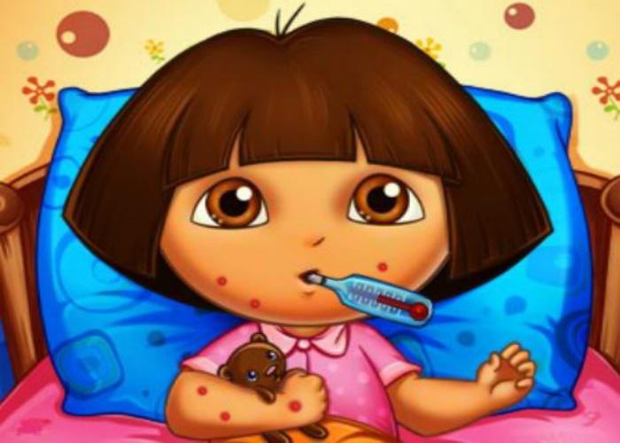 Piqures d'abeilles pour Dora