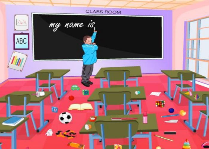 Classe en désordre