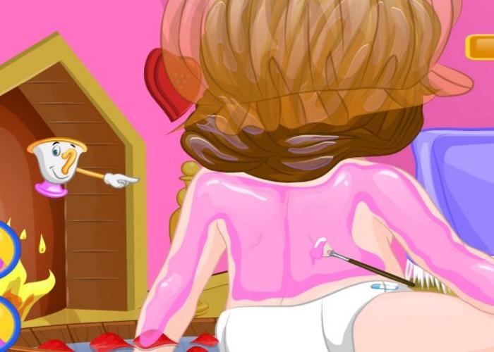 b b belle au spa sur jeux fille gratuit. Black Bedroom Furniture Sets. Home Design Ideas