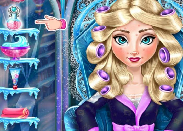 Relooking réel d'Elsa reine des neiges