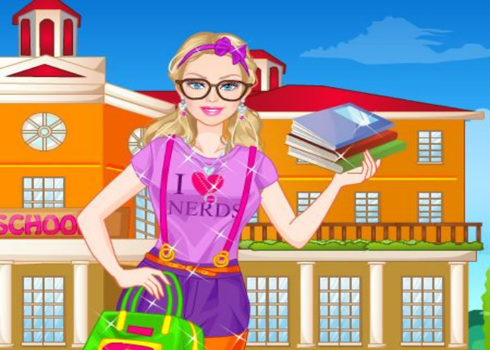 Vêtements d'une jeune fille studieuse