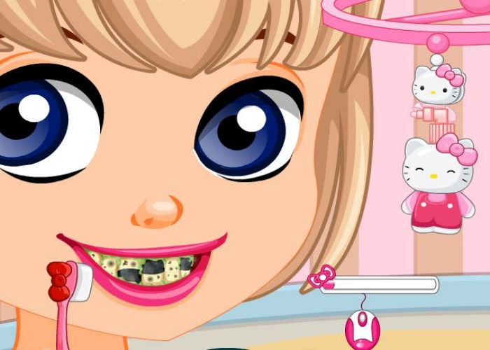 Dentiste pour la fan de Kitty