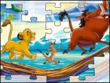 Long puzzle Le roi lion