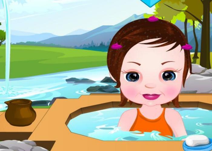 Bain naturel pour bébé