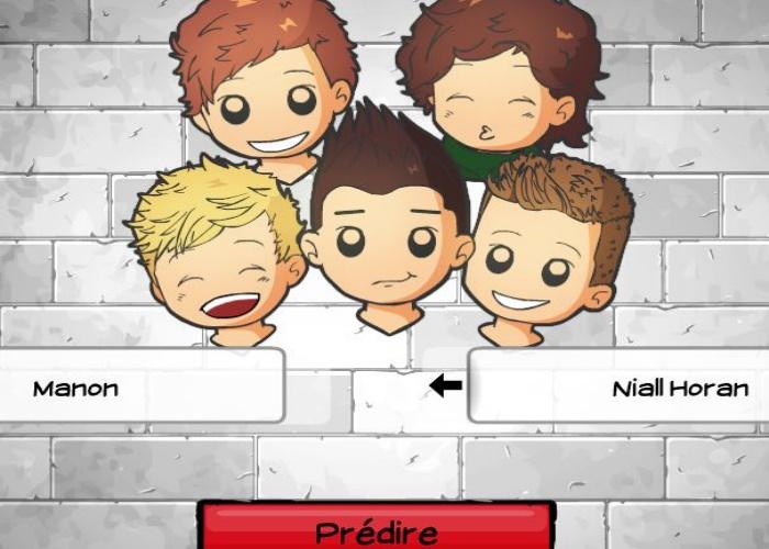 Tes chances avec les One Direction