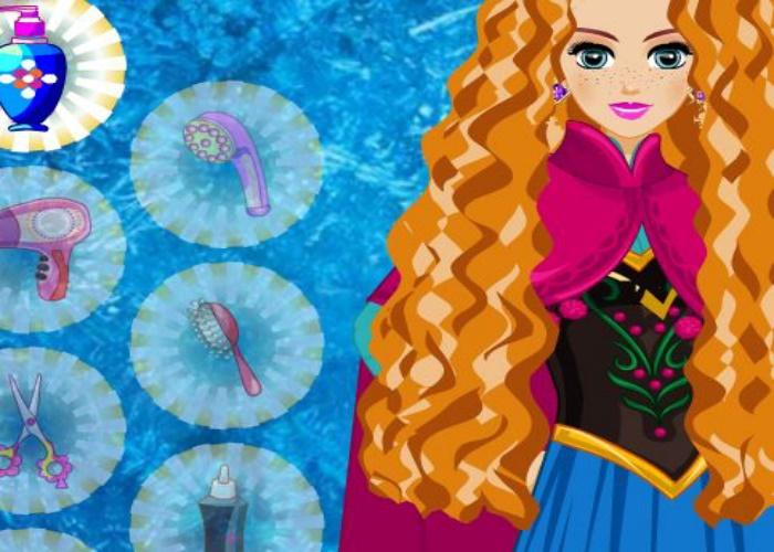 Coiffure de Elsa et Anna