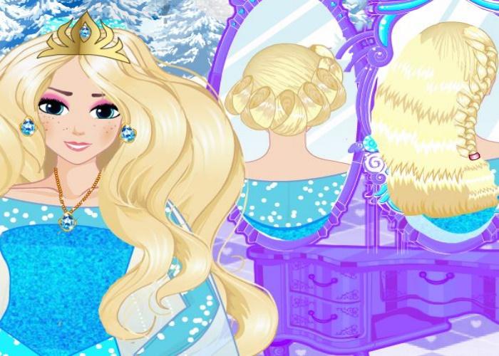 Style de coiffure pour Elsa