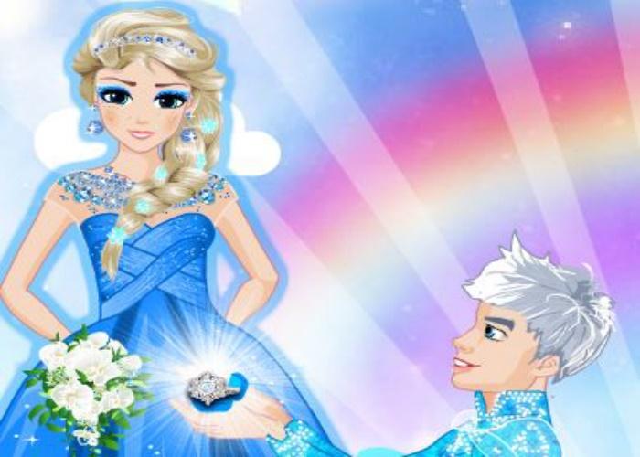 Jack et Elsa se marient
