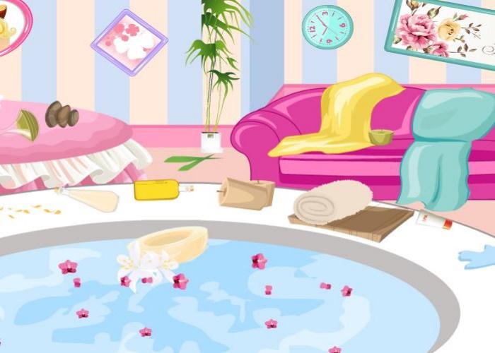 Ménage au spa