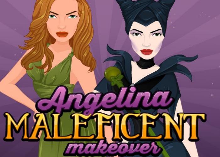 Beauté d'Angelina maléfique