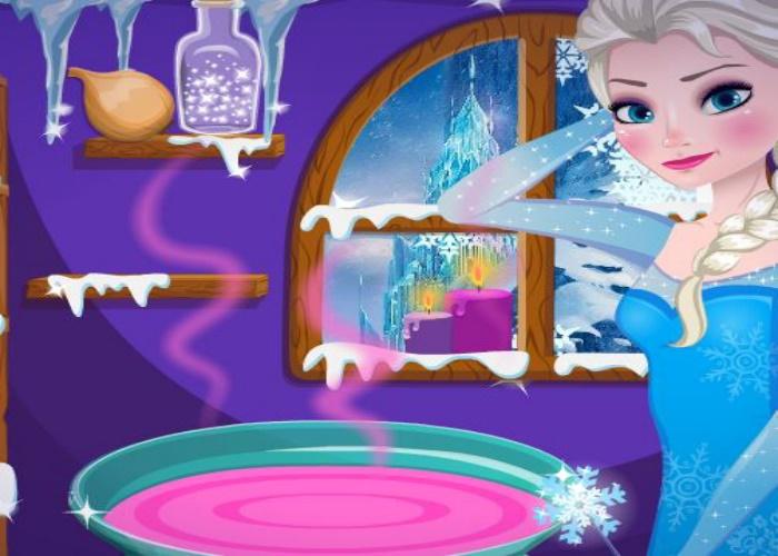 Potion magique pour Olaf