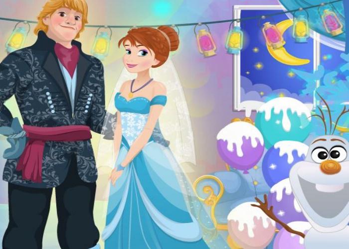 Mariage d'Anna et Kristoff