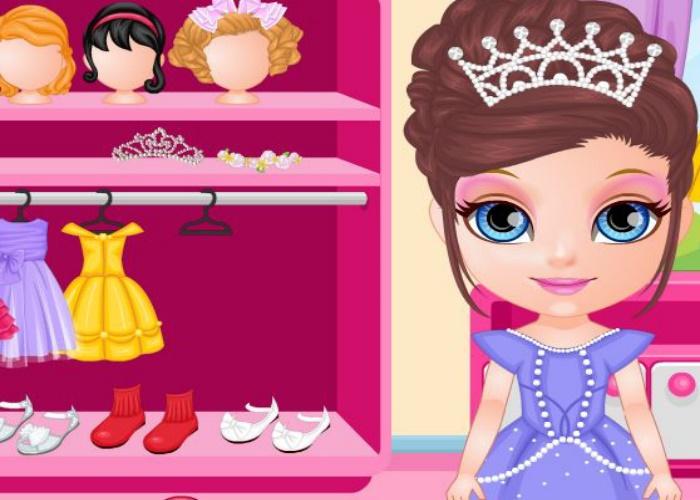 Concours de beauté mini miss !