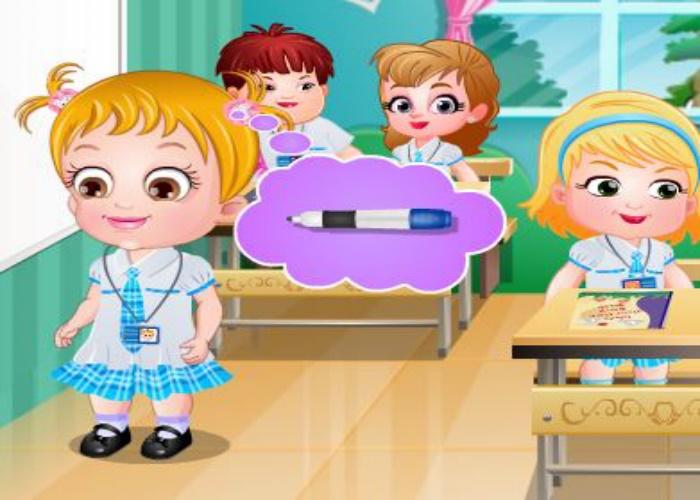 Hazel et les règles à l'école