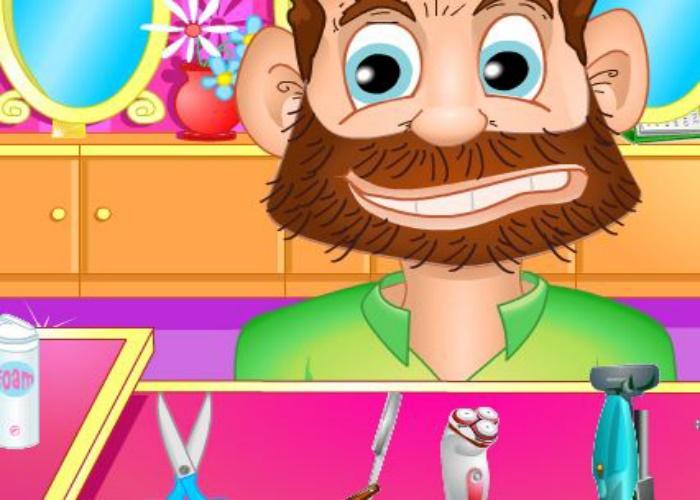 Petit ami barbu