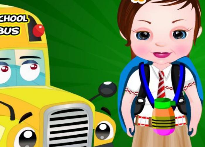 Sofia retourne à l'école