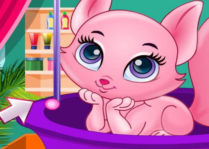 Joli petit chat princesse