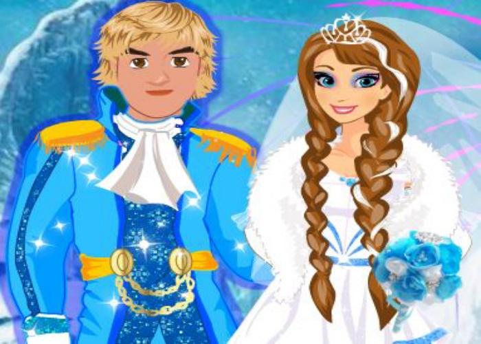Mariage d'Anna et Kristoff 2