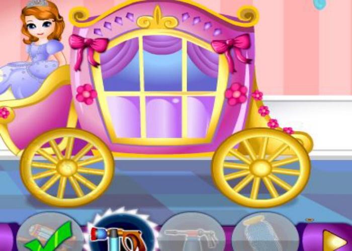 Laver le carrosse de sofia sur jeux fille gratuit - Jeux de sofia gratuit ...