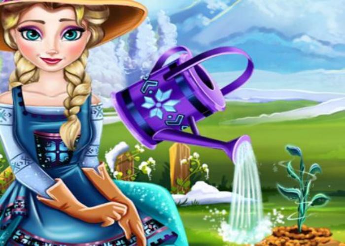 Elsa et la fleur de glace