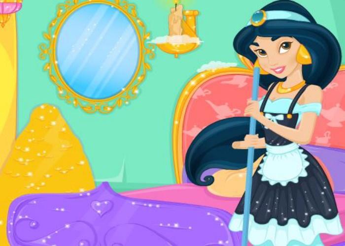 Jasmine fait le ménage