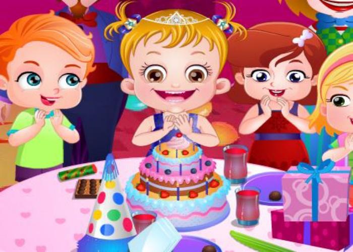 Hazel fête son anniversaire