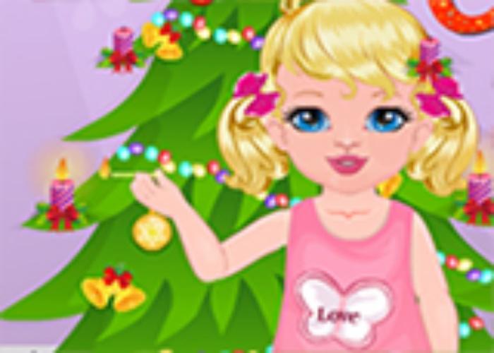 Polly fête Noel