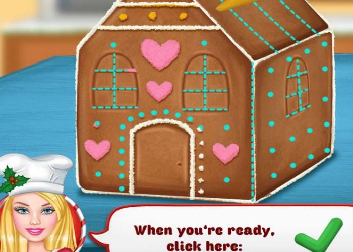 Ellie et la maison de pain d'épice