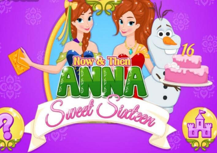 Anna maintenant et à l'époque