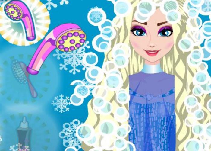 Nouvelle coiffure Elsa