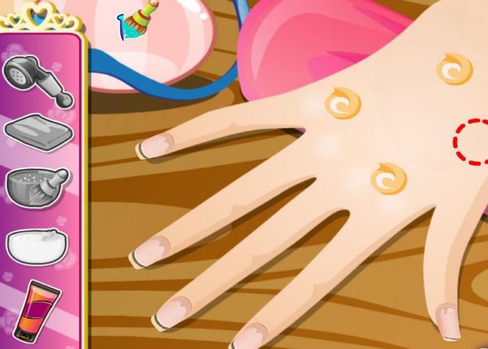 salon de manucure princesse sur jeux fille gratuit. Black Bedroom Furniture Sets. Home Design Ideas
