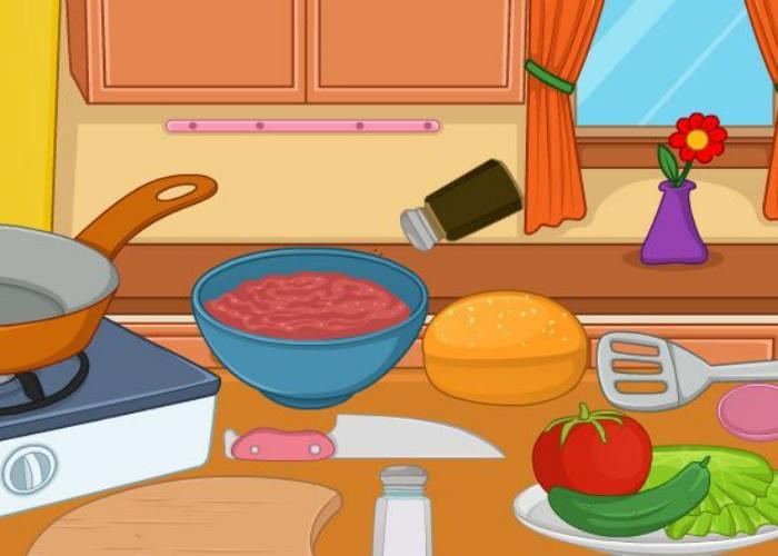 Cuisine de hamburgers sur jeux fille gratuit - Jeux de fille gratuit de cuisine gratuit ...