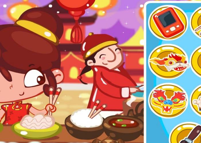 S'amuser au Nouvel An chinois