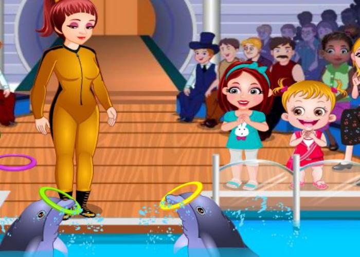 Hazel et les dauphins