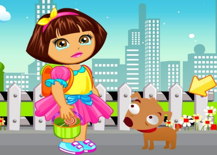 Dora rate son bus pour l'�cole